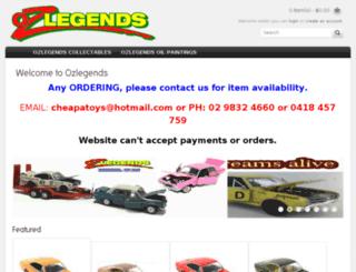 ozlegends.com.au screenshot
