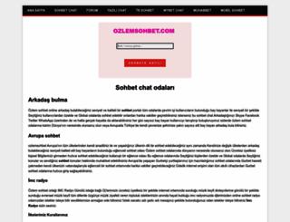 ozlemsohbet.com screenshot