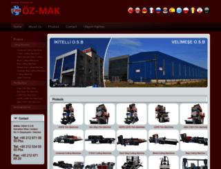 ozmakplastik.com screenshot