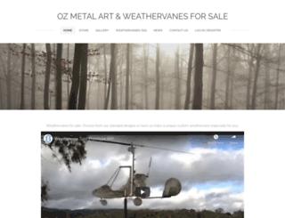 ozmetalartz.com.au screenshot