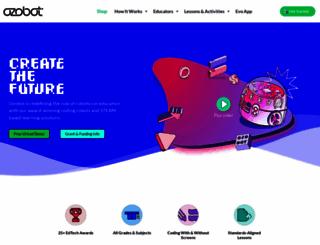 ozobot.com screenshot