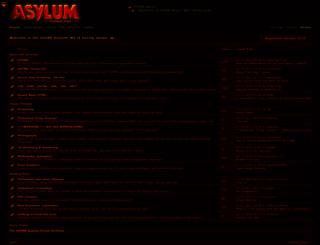 ozoneasylum.com screenshot