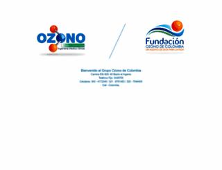 ozonocolombia.com screenshot
