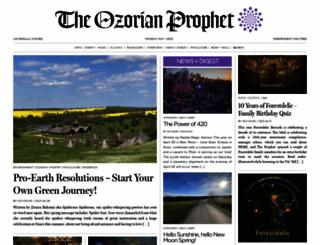 ozorianprophet.eu screenshot
