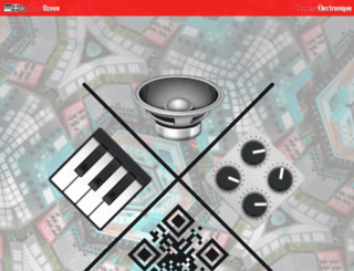 ozoux.com screenshot