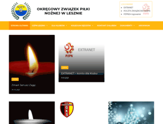 ozpnleszno.pl screenshot
