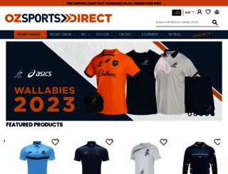 ozsportsdirect.com.au screenshot