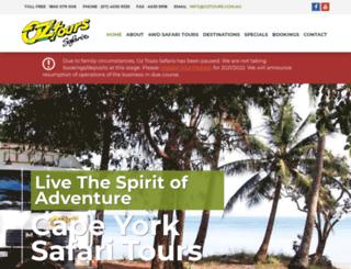 oztours.com.au screenshot