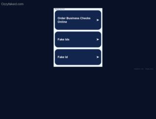 ozzyfakeid.com screenshot
