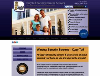 ozzytuff.com.au screenshot