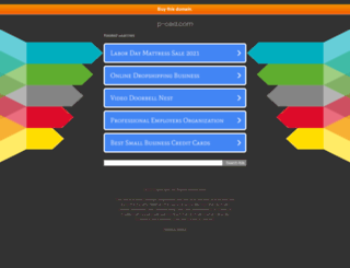 p-ced.com screenshot