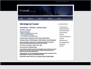 p-consult.com screenshot