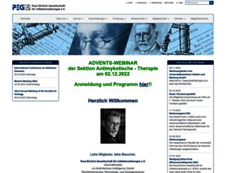 p-e-g.org screenshot