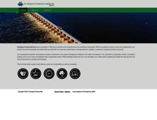 p-perdana.com screenshot