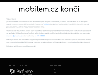 p.mobilem.cz screenshot