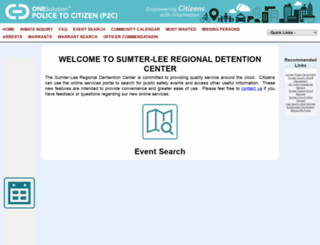 p2c.sumtercountysc.org screenshot
