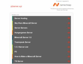 p2server.xyz screenshot