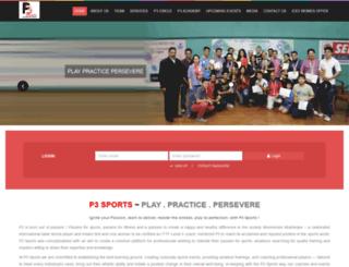 p3-sports.com screenshot