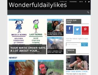 p313067.wonderfuldailylikes.net screenshot