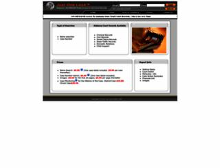 pa.alacourt.com screenshot