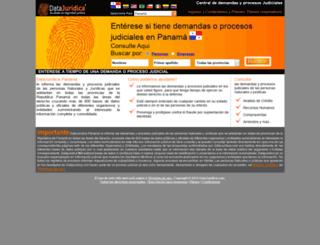 pa.datajuridica.com screenshot