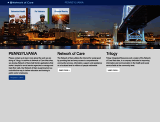 pa.networkofcare.org screenshot