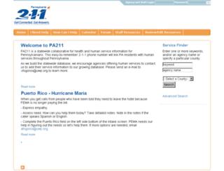 pa211.communityos.org screenshot