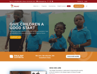 paajaf.org screenshot