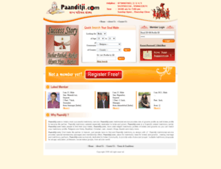 paanditji.com screenshot