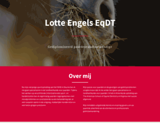 paardentandheelkunde.nl screenshot