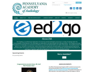 paaudiology.org screenshot