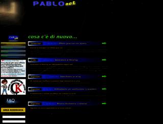 pablonet.altervista.org screenshot