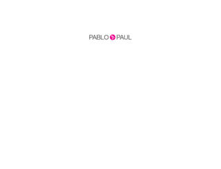 pabloundpaul.com screenshot