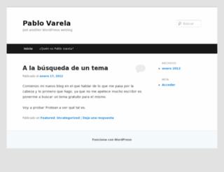 pablovarela.net screenshot