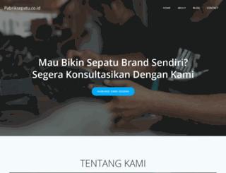 pabriksepatu.co.id screenshot