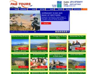 pabtours.com screenshot
