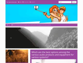 pac-sports.com screenshot
