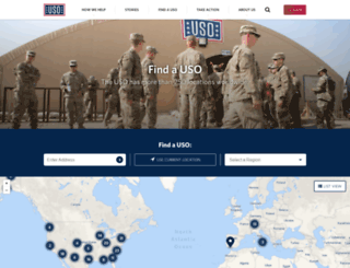 pac.uso.org screenshot