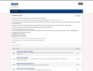 pace.academicworks.com screenshot