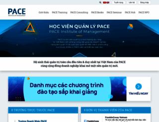 pace.edu.vn screenshot