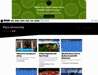 pace.spoonuniversity.com screenshot