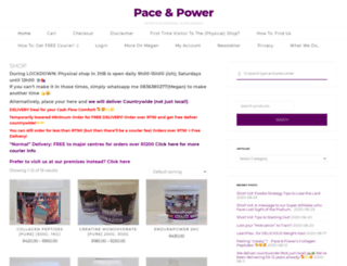 paceandpower.za.net screenshot