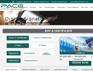 paceexpert.com screenshot