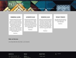 paceglass.us screenshot