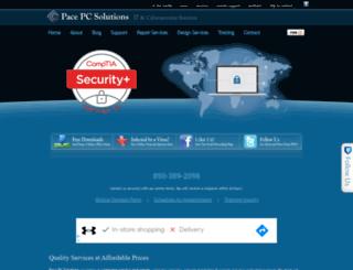 pacepcsolutions.com screenshot