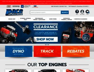 paceperformance.com screenshot
