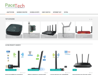 pacetech.it screenshot