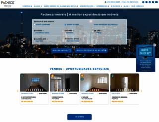 pacheco.com.br screenshot