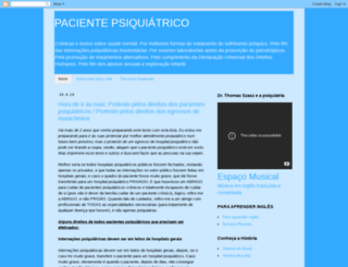 pacientepsiquiatrico.blogspot.com.br screenshot
