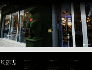 pacific-compagnie.com screenshot